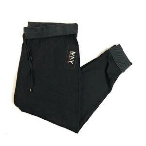 MNY Marc New York Black Gray Jogger Sweatpants 2X